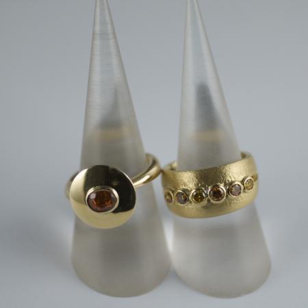 Golden Sapphire and Golden Diamonds