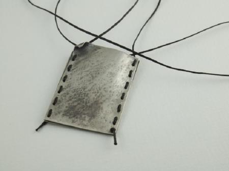 Sterling silver bag for memories