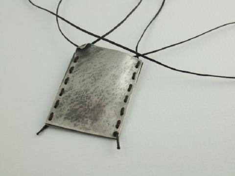 Sterling silver bag for memories