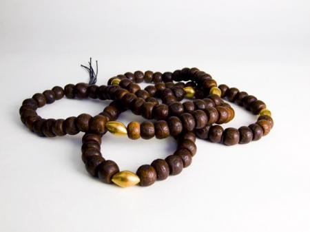 Siva's tears gave birth to the Rudraksha tree, its beads are used in Hindu & Buddhist prayer