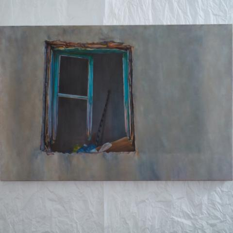 Window with bags